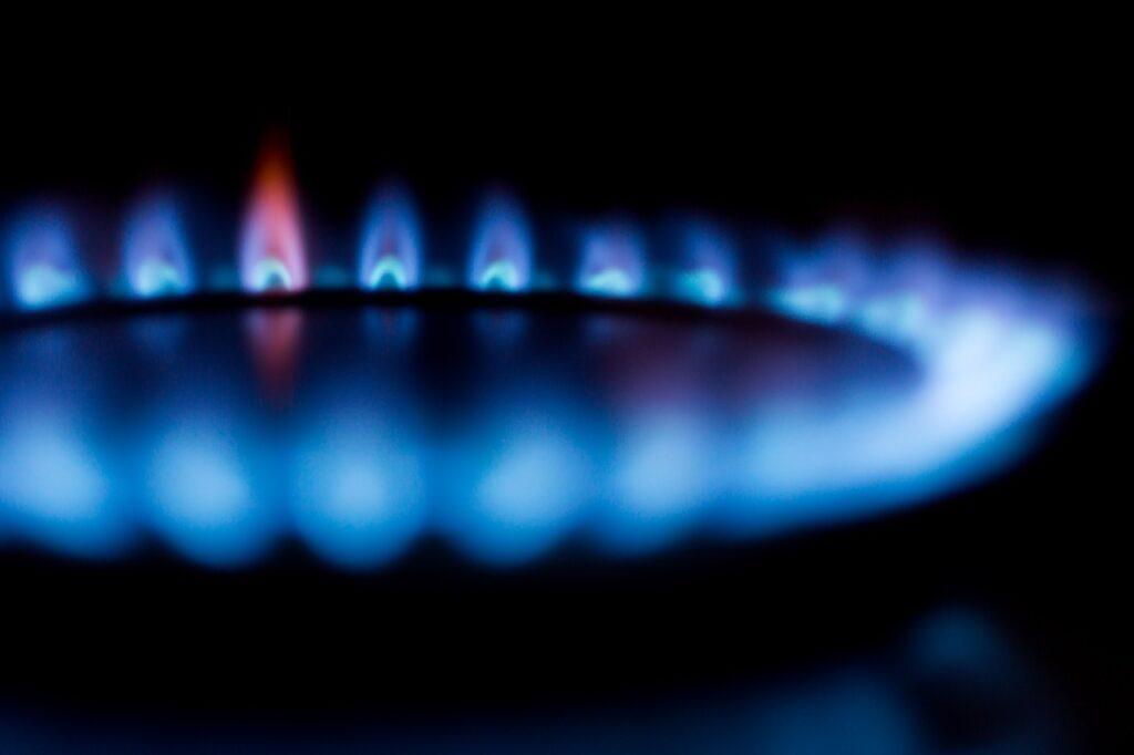 blurred, burner, flame